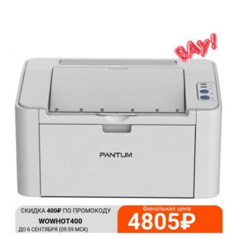 Принтер лазерный Pantum P2200 по самой низкой цене