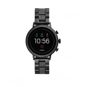 Смарт-часы Fossil Gen 4 - Venture HR Black SSteel