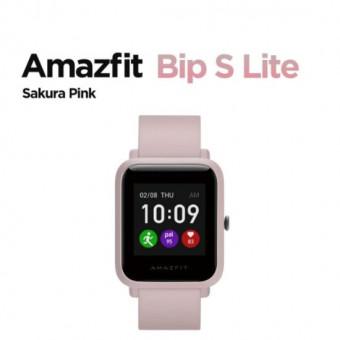 Умные часы Amazfit Bip S Lite в цвете Sakura Pink по выгодной цене