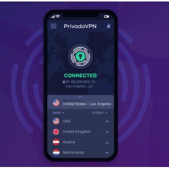 Бесплатный план Privado VPN