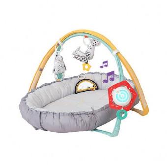 Музыкальный развивающий коврик Taf Toys 122350 с мягкими бортами, 100х80 см