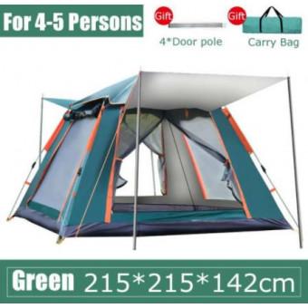 Палатка складная на 4-5 человек по классной цене