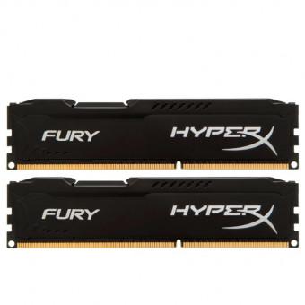Оперативная память HyperX Fury 16GB DDR3 1600MHz HX316C10FBK2/16