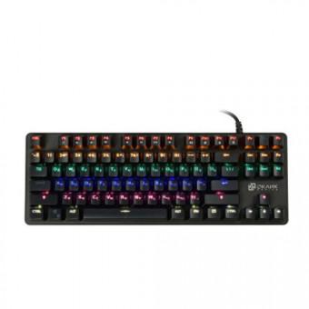 Клавиатура OKLICK 969G SHOTGUN чёрная по скидке в Ситилинке