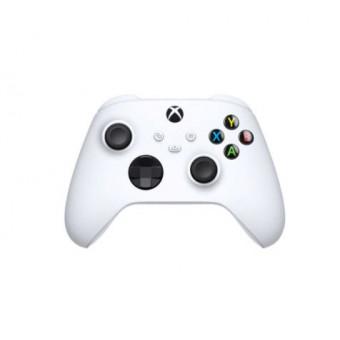 Беспроводной геймпад Microsoft Xbox в белом цвете по низкой цене
