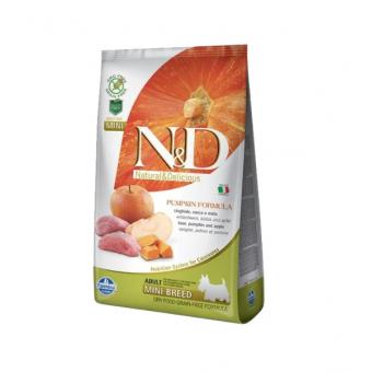 Сухой корм для собак Farmina N&D беззерновой 7 кг почти в два раза дешевле