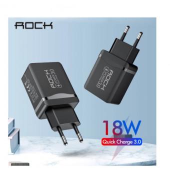 Сетевое зарядное устройство ROCK на 18 Вт со скидкой
