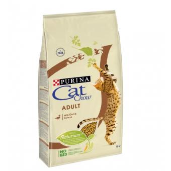 Сухой корм для кошек CAT CHOW с уткой 15 кг по самой лучшей цене