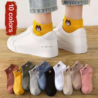 10 пар женских спортивных носков по хорошей цене