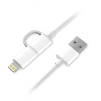 Кабель ZMI USB - Lightning, microUSB для зарядки устройств iOS и Android по классной цене