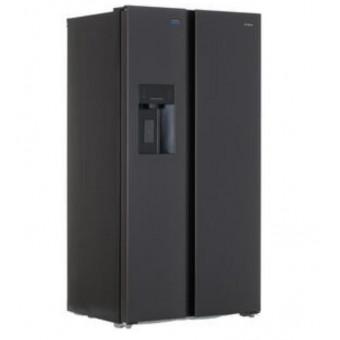 Холодильник Side by Side DEXP SBS650ASY черный