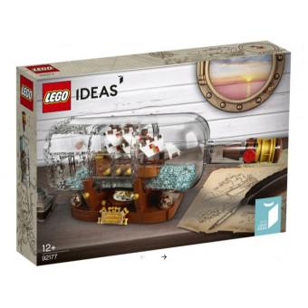 Конструктор LEGO Ideas 92177 Корабль в бутылке по самой низкой цене