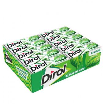 Вкусная жевательная резинка Dirol Cadbury White Мята без сахара 30 шт по самой низкой цене