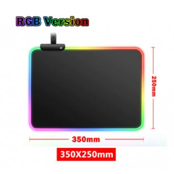 Игровой коврик для мыши с RGB подсветкой по лучшей цене