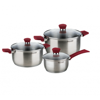 Набор посуды (нержавейка) Rondell Strike RDS-817 по лучшей цене
