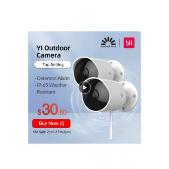 Камера наружного наблюдения XIAOMI YI Outdoor Camera 2 шт. по приятной цене