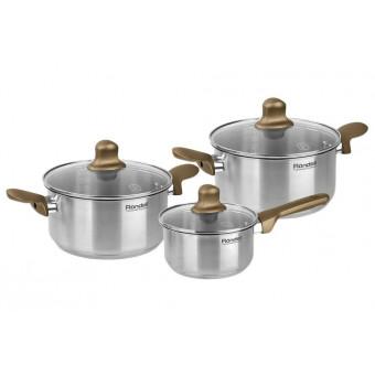 Набор посуды Rondell Impressia Bronze RDS-1286 по отличной цене