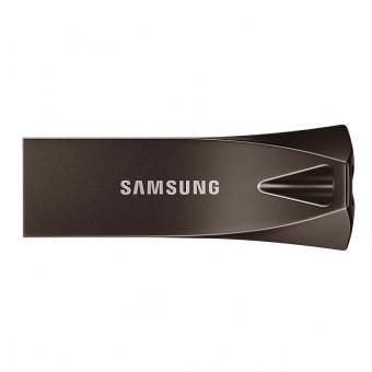 Флешка Samsung BAR Plus 256GB в цвете серый титан по выгодной цене
