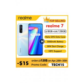 Смартфон Realme 7 6/64 Blue по привлекательной цене