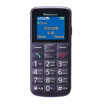Мобильный телефон Panasonic KX-TU110 Violet по отличной цене