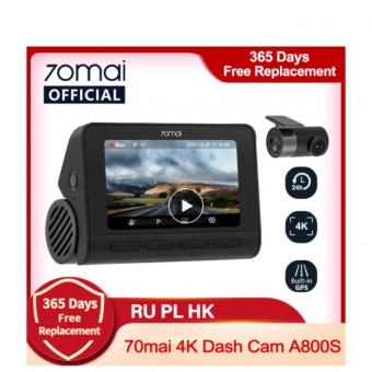Популярный видеорегистратор 70mai A800S по выгодной цене