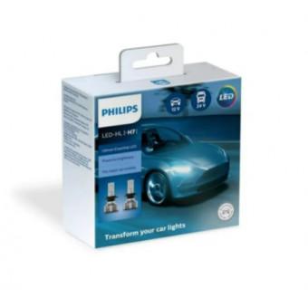 Светодиодная лампа Led H7 12в/24в 6500к X2 Philips 11972UE2X2 по классной цене
