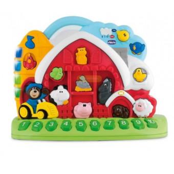 Интерактивная развивающая игрушка Chicco Говорящая ферма по низкой цене