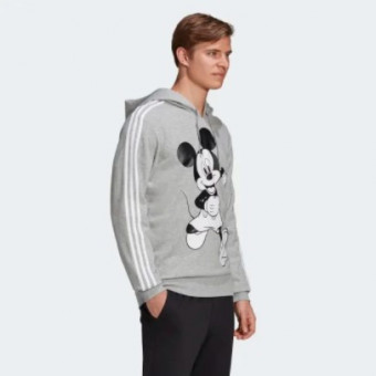 Симпатичное худи RUNNING с мультяшкой в Adidas