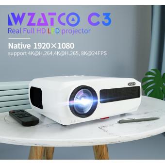 Светодиодный проектор WZATCO C3 по отличной цене