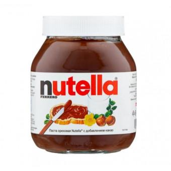 Nutella паста ореховая с добавлением какао, 630 г по крутой цене