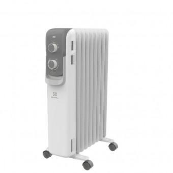 Масляный радиатор Electrolux EOH/M - 7209 2000W в белом цвете и со скидкой