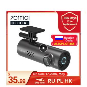 Автомобильный видеорегистратор 70mai Smart Dash Cam 1S по отличной цене