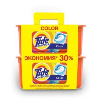 Капсулы для стирки Tide Color по самой низкой цене