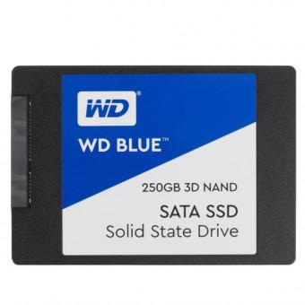 SSD накопитель WD Blue WDS250G2B0A 250Гб по выгодной цене