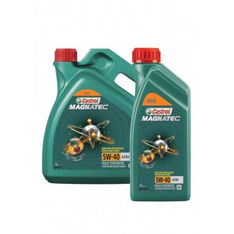 Синтетическое моторное масло Castrol Magnatec 5W-40 А3/В4 DUALOCK 4+1 л по приятной цене