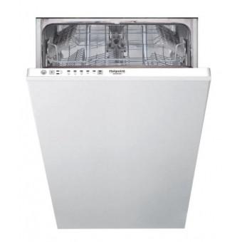 Узкая встраиваемая посудомоечная машина Hotpoint-Ariston HSCIE 2B0 по низкой цене