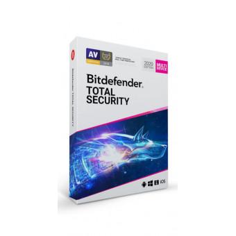 Антивирус Bitdefender Total Security 2021 на 3 месяца бесплатно