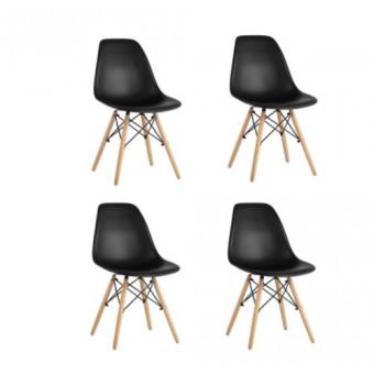 Комплект стульев DSW из 4 шт по выгодной цене