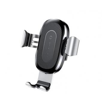 Держатель Baseus Wireless Charger Gravity Car Mount с беспроводной зарядкой по сниженной цене