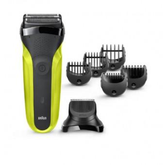 Электробритва Braun 300BT Series 3 Shave Style green по отличной цене