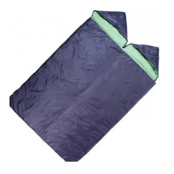Спальный мешок 2-х местный MACLAY 3-слойный, 225х140 см, с капюшоном (4198885) по классной цене