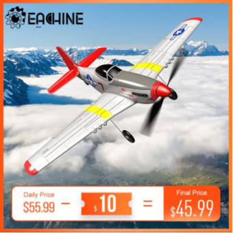 Модель самолёта на радиоуправлении Eachine Mini P-51D RC по отличной цене