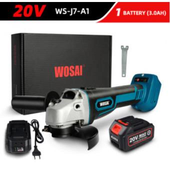 Угловая шлифовальная машина WOSAI M14 20V WS-J7-A1 по интересной цене