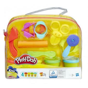 Масса для лепки Play-Doh Набор Базовый (B1169) со скидкой по промокоду