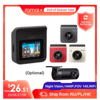 Видеорегистратор 70mai A400 по самой выгодной цене