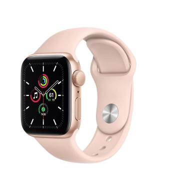 Умные часы Apple Watch SE GPS 40мм Aluminum Case with Sport Band в цвете золотисто-розовыйпо скидке
