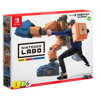 Игра Labo Toy-Con 02 Robot Kit для Nintendo Switch по сниженной цене