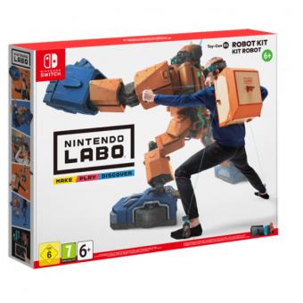 Игра Labo Toy-Con 02 Robot Kit для Nintendo Switch по сниженной цене