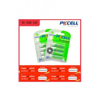 Аккумуляторная батарея PKCELL AA 2200mAh 8 шт. по выгодной цене