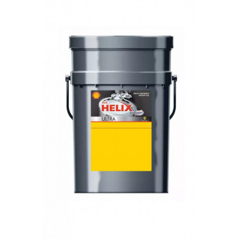 Суперцена на моторное масло Shell Helix Ultra 0W-40 20л